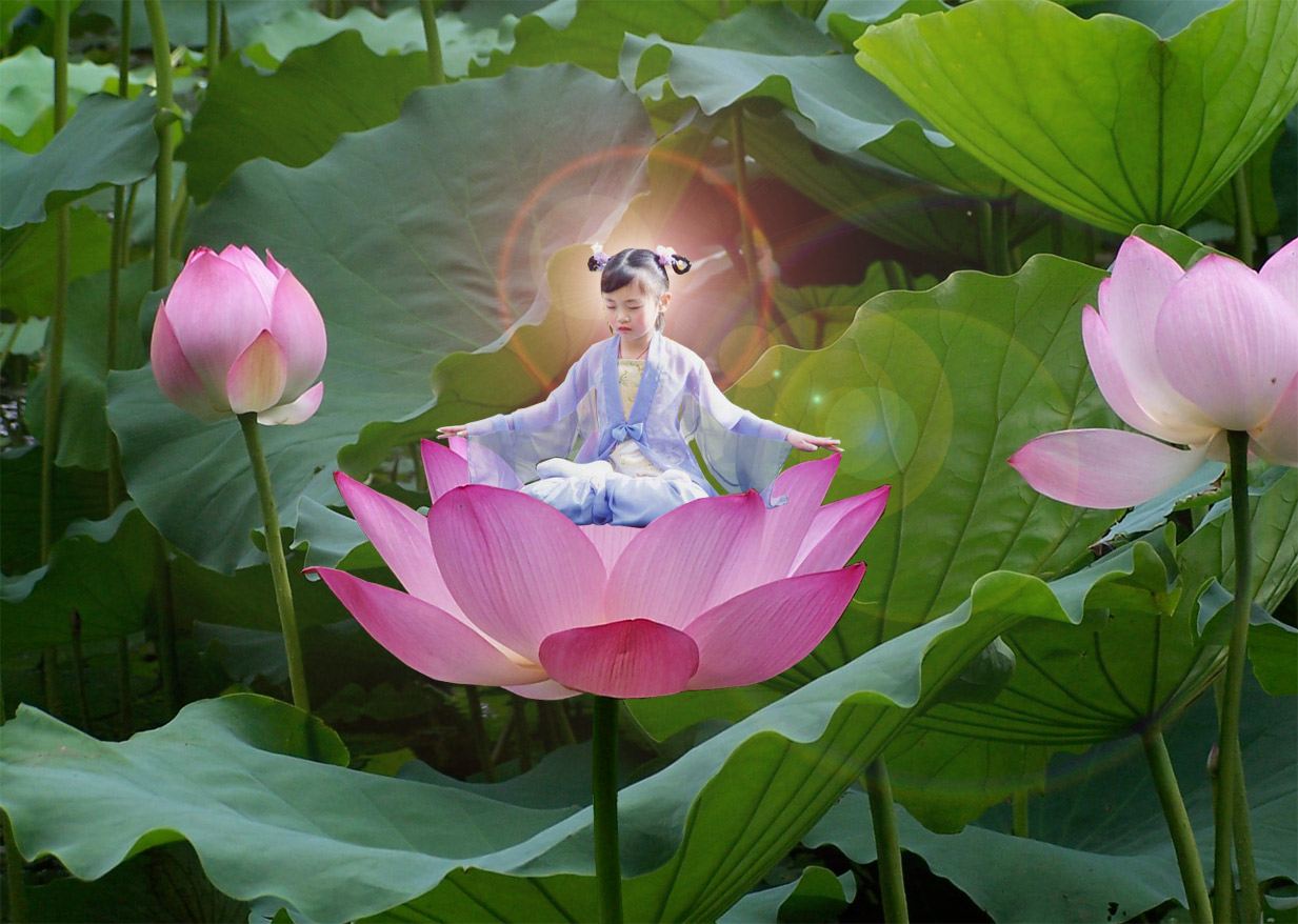 girl-on-lotus
